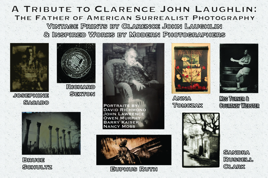 A Tribute to Clarence John Laughlin: Invite